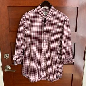 J. Crew men's long-sleeved cotton button-down
